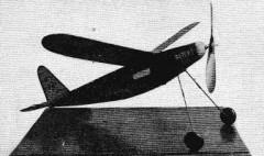 Dopey 1 model airplane plan