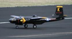 Douglas A-26 Invader model airplane plan