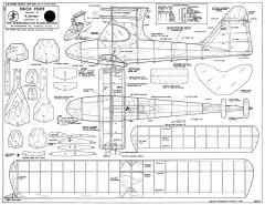 Duck Foot model airplane plan