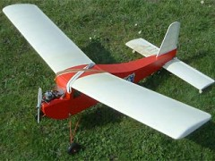 Electra  model airplane plan