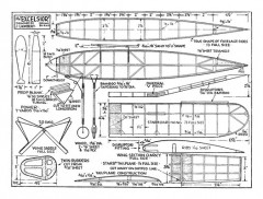 Excelsior model airplane plan