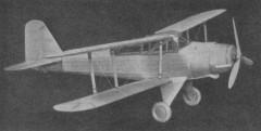 Fairey Albacore model airplane plan