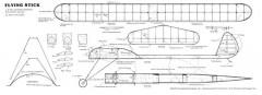 Flying Stik 2 model airplane plan