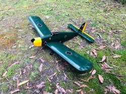 Galahad model airplane plan