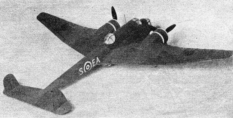 Hampden model airplane plan