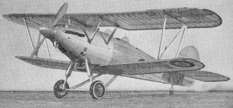 Hawker Hind model airplane plan