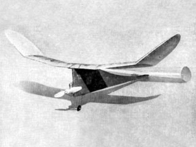 Hells Belle model airplane plan