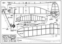 Isle of Thanet model airplane plan