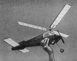 Jumping Jiminy model airplane plan