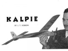 Kalpie model airplane plan