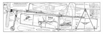Komar model airplane plan