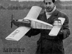 Linnet model airplane plan