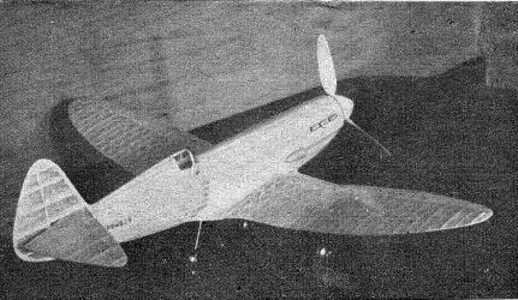 Lonach model airplane plan
