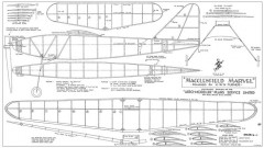 Macclesfield Marvel model airplane plan