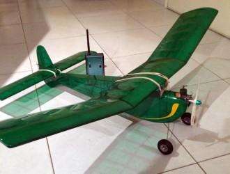 Madcap model airplane plan
