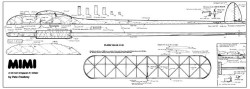 Mimi A1 53in model airplane plan