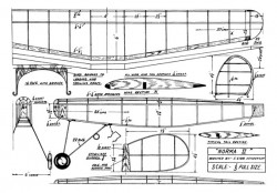 Norma II model airplane plan