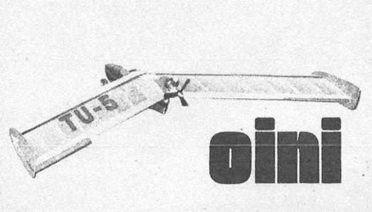 Oini model airplane plan