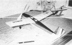 Olympian model airplane plan