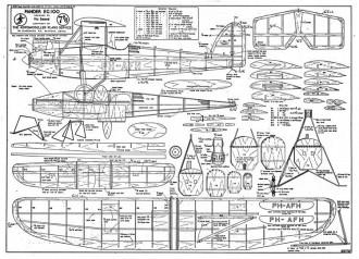 Pander EG100 model airplane plan