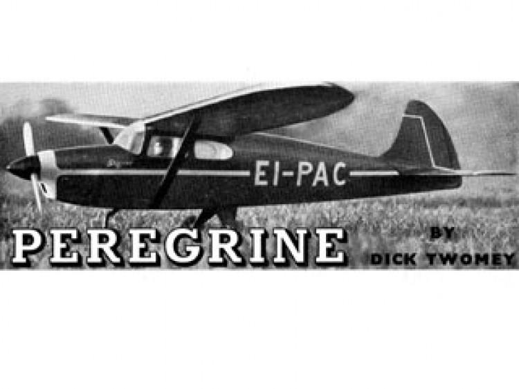 Peregrine model airplane plan