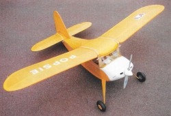 Popsie model airplane plan