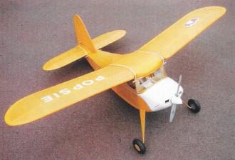 Popsie model airplane plan