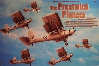 Prestwick Pioneer model airplane plan