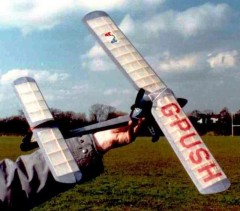 Pushy Cat model airplane plan