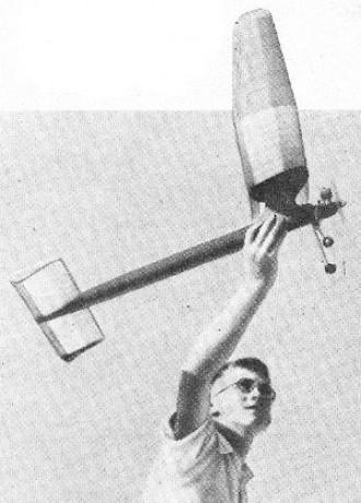 Pussyfoot model airplane plan