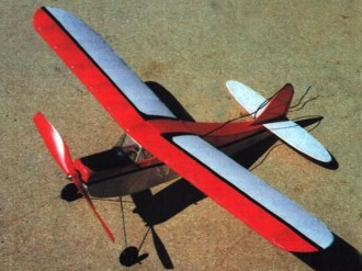 Quark model airplane plan