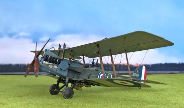 R.E.8 model airplane plan