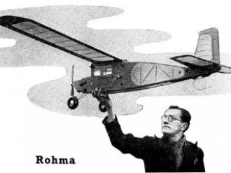 Rohma model airplane plan