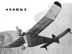 Snorky model airplane plan
