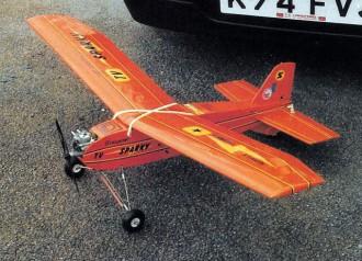 Sparky model airplane plan