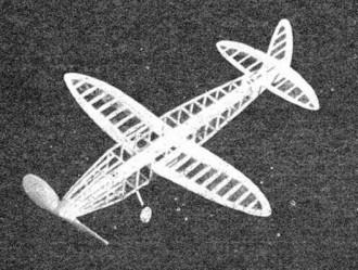 Travelaire Speedster model airplane plan