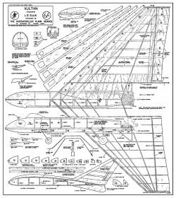 Vultan model airplane plan
