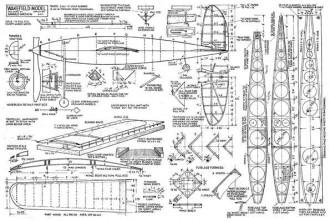 Wakefield Model 2 model airplane plan