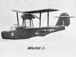 Walrus II model airplane plan