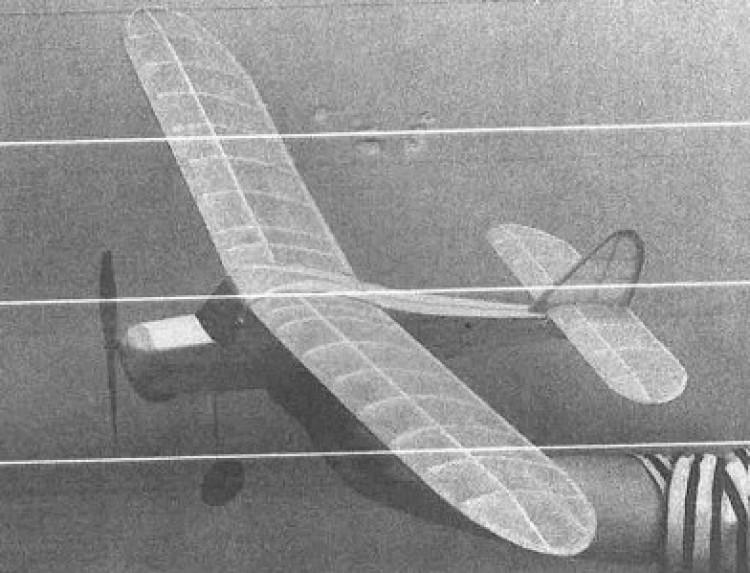 Woodpecker model airplane plan