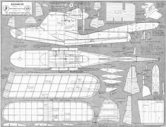 Aquarius model airplane plan