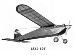 Band Boy model airplane plan