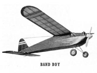 Band Boy model airplane plan