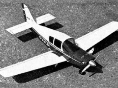 Beagle Pup 150 model airplane plan