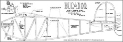 Bugaboo model airplane plan