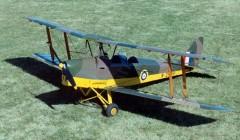 DH 82A Tiger Moth model airplane plan