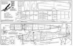 Santa Maria model airplane plan