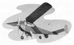 Wyvern model airplane plan