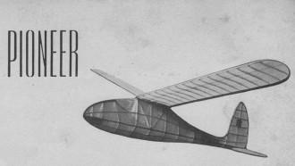 Pioneer model airplane plan