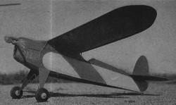 Pursuiteer model airplane plan
